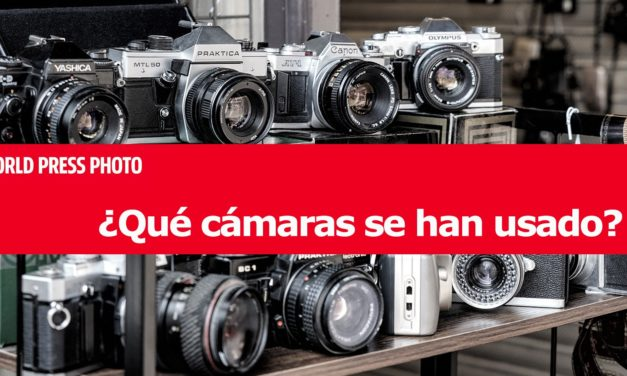 ¿Qué cámaras se han usado en los World Press Photo 2020?
