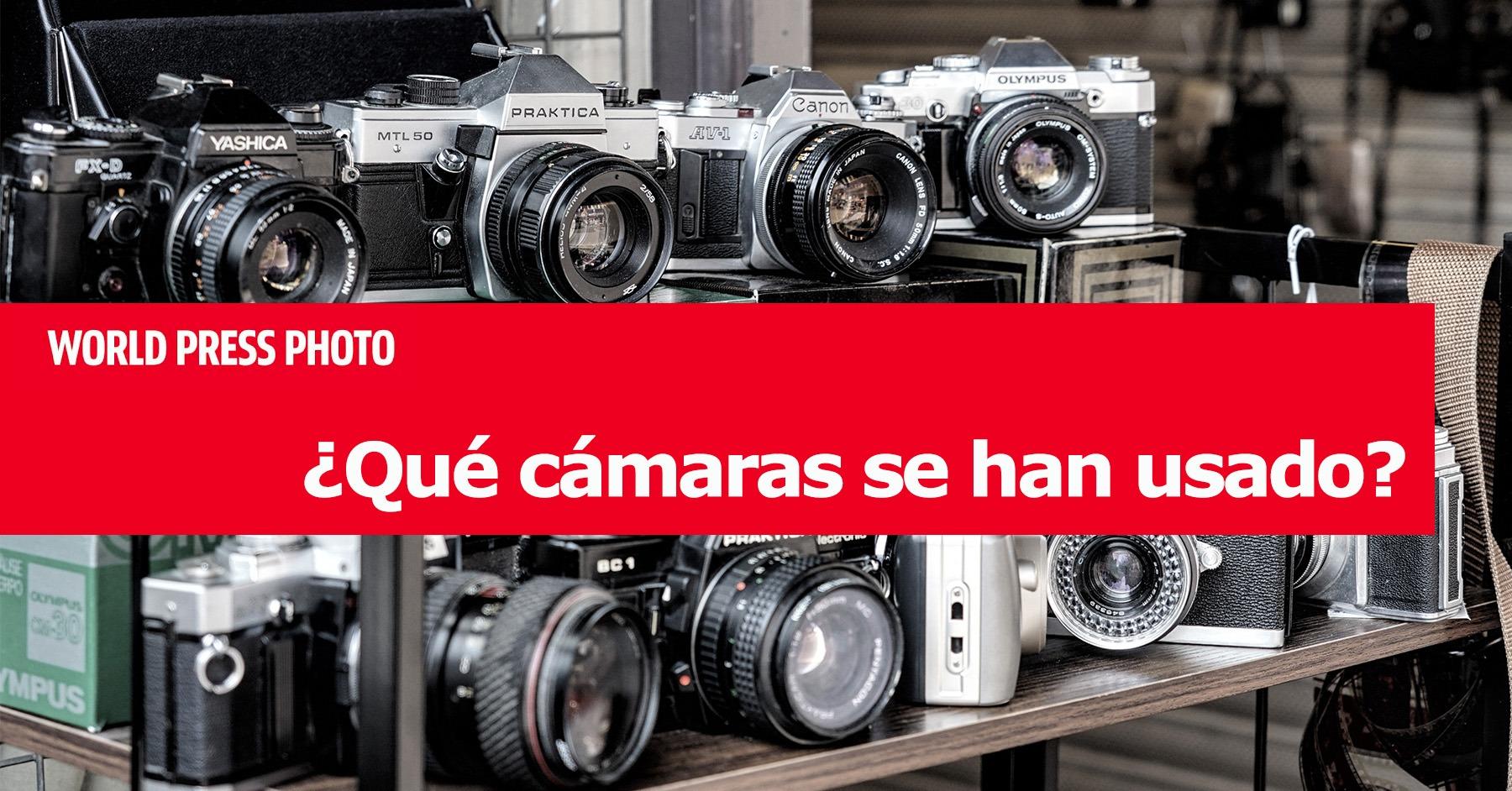 ¿Qué cámaras se han usado en los World Press Photo 2020?