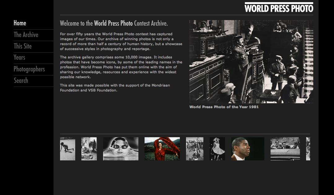 El Archivo de World Press Photo